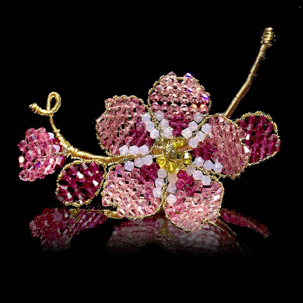 Mindy Lam Cherry Blossom Pin
